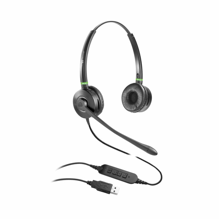 VT6909 Headset with LED Busy Light